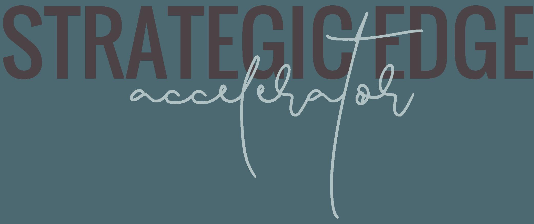 Strategic Edge Accelerator (Logo BTS) - Sabine Biesenberger