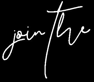 join the (script font white) - sabinebiesenberger.com